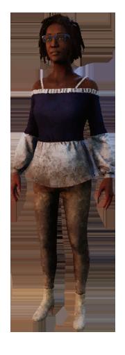 Claudette outfit 004