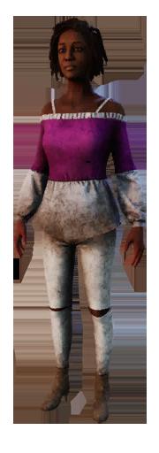 Claudette outfit 006