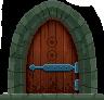 Дверь в секретку