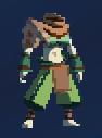 Временной костюм охотника