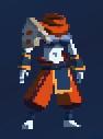 Вулканический временной костюм