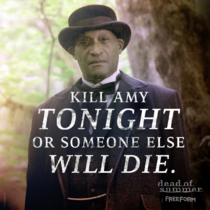 Kill Amy tonight or someone else will die poster
