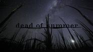 Dead of Summer logo titlecard générique épisode 1x03