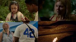 1x05 Francie inhalateur asthme Shannon Rutherford crise île 42 t-shirt Joel Goodson Kwon nombre maudit