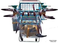 Dead rising Weapon Cart