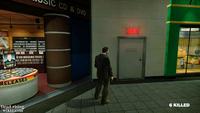 Dead rising security room door entrance plaza