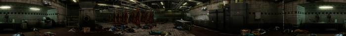 Dead rising meat processing area Panorama 2 of 2