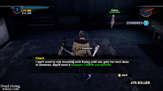 Dead rising 2 case 0 cant leave before zombrex to katey