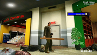 Dead rising sickle zombie cop leg amputated (3)