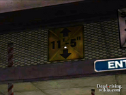 Dead rising pp maintence tunnels sign (2)
