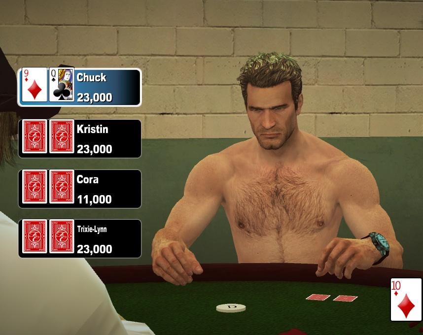 Male Strip Poker