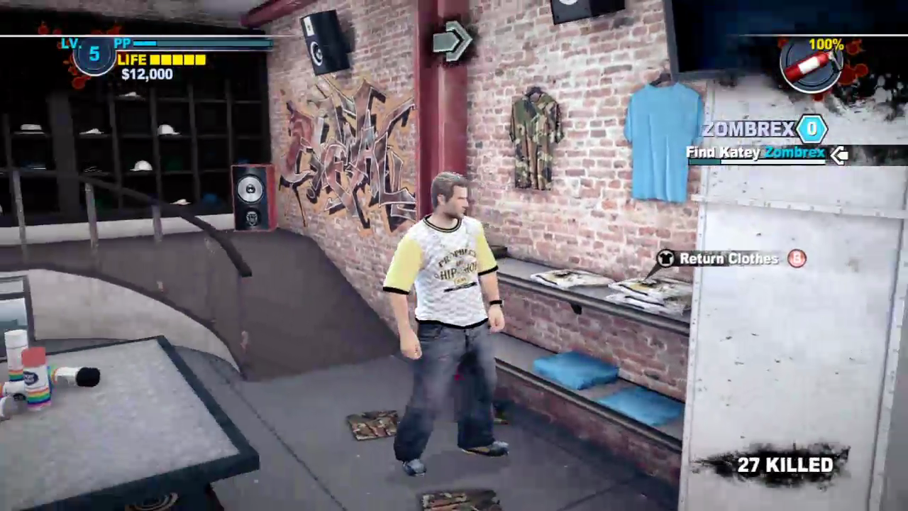 Dead Rising 2 Justin Tv Hip Hop Outfit In The Closet 3
