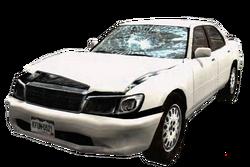 Dead rising White Sedan