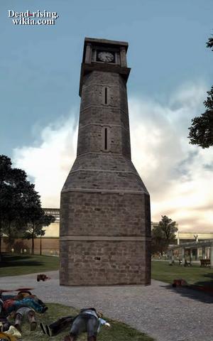 Dead rising leisure park clock tower PANORAMA