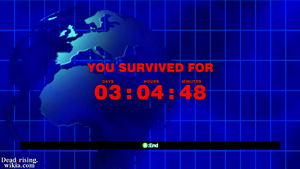 Dead rising infinity mode other you survived for screen