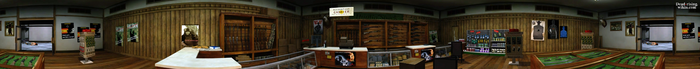 Dead rising Huntin' Shack PANORAMA