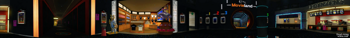 Dead rising Colby's Movieland PANORAMA