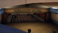 Dead rising entrance plaza sign from paradise plaza
