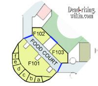 Dead rising Map food court map