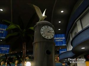 Dead rising paradise plaza bird clock