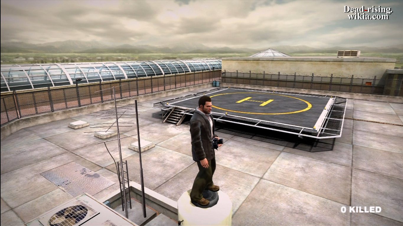 Dead Rising Heliport And Parking Lot 2