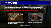 Dead rising infinity mode other intro screen