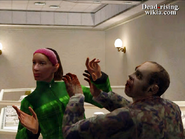 Dead rising leah attacked by zombie