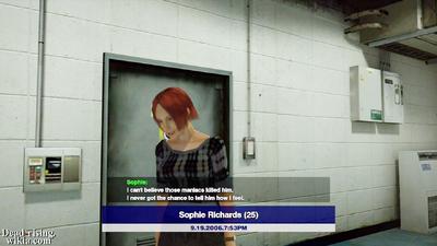 Dead rising sophie richard rescued