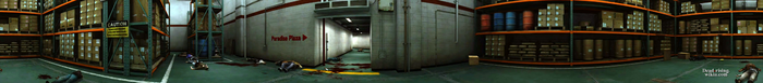 Dead rising warehouse PANORAMA