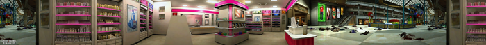 Dead rising Estelle's Fine-lady Cosmetics (Wonderland Plaza) PANORAMA