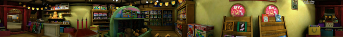 Dead rising Ye Olde Toystore PANORAMA
