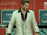 White Leisure Suit