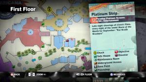 Dead rising 2 Paradise Platinum Screens map