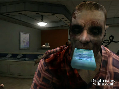 Dead rising shampoo in zombies mouths (3)