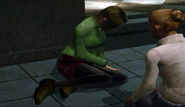 Dead rising Verlene Willis and Dana Simms survivors casualties in breach at beginning of game