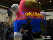 Dead rising Nick and Sally hanging from Bunny Balloon in Wonderland on Day 2 (3)