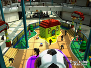 Dead rising wonderland plaza from above
