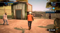 Dead rising 2 case 0 shed with bike forks