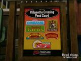 Dead rising food court restaurant list sign