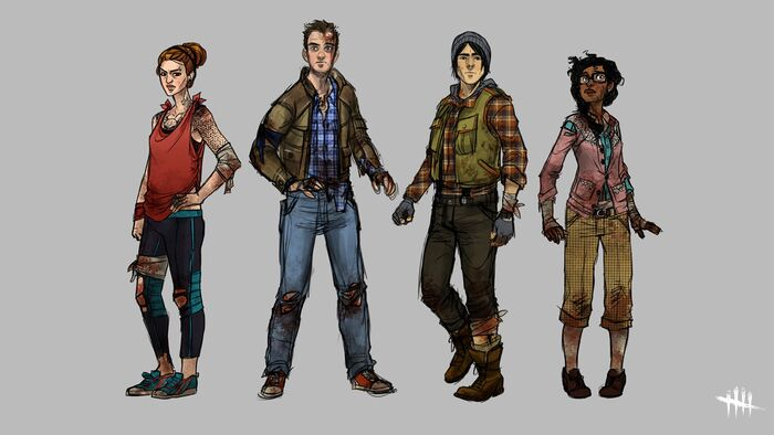 Dbd Early-character-designs