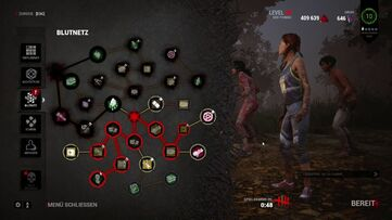 Image result for Dead by daylight blood web