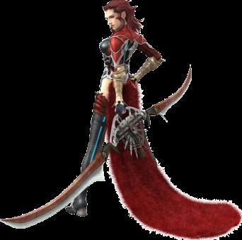 Rosso the Crimson