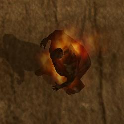 Flaming Black Rumbler