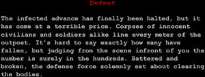 """Defeat"""