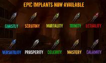 Epicimplants