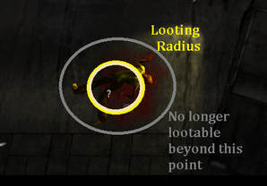 Body looting point