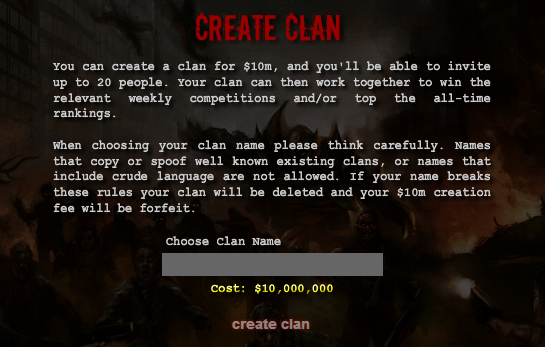 Purchase Clan HQ