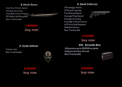 Clan Dusk Shop