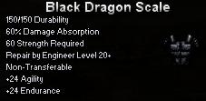 Black Dragon Scale