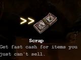 Item Scrapping